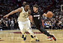 "NBA: ""Heat"" – ""Pacers"""