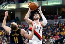 "NBA: ""Pacers"" – ""Trail Blazers"""
