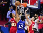 "NBA atkrintamosios: ""Hawks"" – ""76ers"""