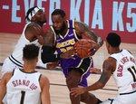 """NBA atkrintamosios: """"Lakers"""" – """"Nuggets"""""""