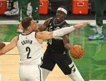 "NBA atkrintamosios: ""Bucks"" – ""Nets"""
