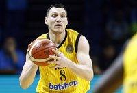J.Mačiulis savo komandai jau kurį laiką nepadeda dėl traumos (FIBA Europe nuotr.)