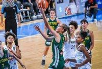 J.Jocytė, A.Čižauskaitė ir A.Zdanevičiūtė nukalė lietuvių pergalę (FIBA Europe nuotr.)