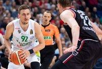 E.Ulanovas per vieną kėlinį tapo rezultatyviausiu mačo žaidėju (BNS nuotr.)