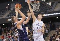 D.Tarolis dažnai baudė varžovus blokais (FIBA Europe nuotr.)