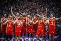 Ispanai laikė iniciatyvą savo rankose viso mačo metu (FIBA nuotr.)