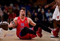 A.Voroncevičius paliko CSKA (Scanpix nuotr.)