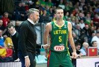 D.Maskoliūnas pakvietė nemažai jaunų žaidėjų (BNS nuotr.)