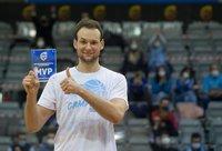 M.Kačinas tapo turnyro MVP