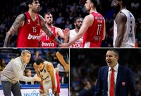 """""""Olympiacos"""" kitą sezoną tęs antroje Graikijos lygoje (Scanpix ir """"Olympiacos"""" nuotr.)"""