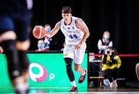 K.Kriisa dvikova visiškai nenusisekė (FIBA Europe nuotr.)