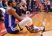 K.Durantas susižeidė silpnąją savo koją (Scanpix nuotr.)