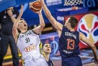 Tarp Lietuvos jaunimo geriausiai pasirodė ketvirtą vietą užėmę devyniolikmečiai (FIBA nuotr.)