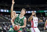 M.Blaževičius debiutavo LKL čempionų gretose (BNS nuotr.)