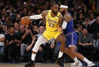 L.Jamesas rengiasi paryškinti savo vardą NBA istorijoje (Scanpix nuotr.)
