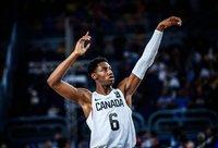 R.J.Barrettas gali nusiristi žemyn naujokų biržoje (FIBA Europe nuotr.)