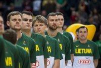Lietuvos rinktinė sužaidė pirmąsias dvejas rungtynes atrankoje (BNS nuotr.)