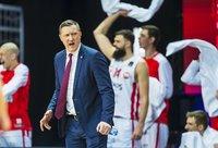 Ž.Urbonas džiaugėsi savo auklėtinių žaidimu (BNS nuotr.)