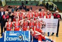 Vilniaus krepšinio mokykla stipriausia tarp 17-mečių (Krepšinio namų nuotr.)
