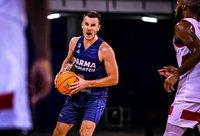 A.Juškevičius lemiamame mače įmetė 10 taškų (FIBA nuotr.)