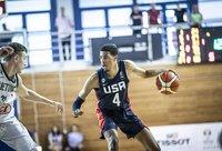 T.Haliburtonas vedė amerikiečius į pergalę (FIBA nuotr.)
