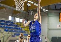 K.Giedraitis tapo rezultatyviausiu mačo žaidėju (BNS nuotr.)