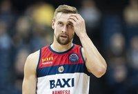 D.Dulkys tragiškai atakavo iš toli (FIBA Europe nuotr.)