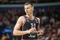 A.Butkevičius sakė, kad komanda mėgavosi žaidimu (BNS nuotr.)