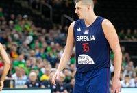 N.Jokičius serbams pelnė 18 taškų (BNS nuotr.)