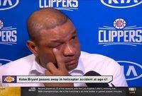 D.Riversas neslėpė ašarų