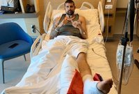 A.Moermanas ištvėrė kojos operaciją