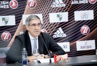 J.Bertomeu pasiūlė baigti sezoną (BNS nuotr.)
