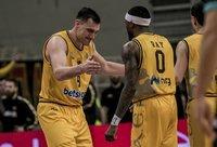 Iki ketvirtfinalio AEK atvedęs J.Mačiulis dėl trofėjaus gali ir nesirungti (FIBA Europe nuotr.)
