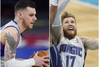 Sezoną NBA baigė du lietuviai (Scanpix nuotr.)