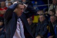 Ž.Urbonas nepatenkintas komandos puolimu (BNS nuotr.)