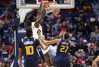 Z.Williamsono debiuto NBA laukiama dar gruodžio mėnesį (Scanpix nuotr.)