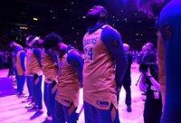"""Lakers"" nariai buvo šoke (Scanpix nuotr.)"