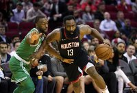 J.Hardenas mano, kad Oklahomos klubas galėjo laimėti NBA (Scanpix nuotr.)