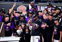 """Lakers"" šiemet tapo čempione (Scanpix nuotr.)"