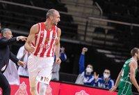M.Simonovičius vedė į pergalę Belgrado klubą (BNS nuotr.)