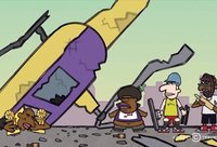 Animacinis serialo siužetas šiurpiai sutapo su realybe