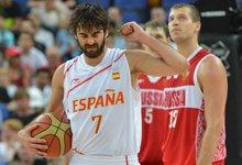 Olimpiados pusfinalis: Ispanija -...
