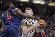 """NBA: """"Pacers"""" – """"Thunder"""""""
