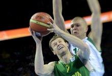 5-8 vietos: Lietuva - Slovėnija