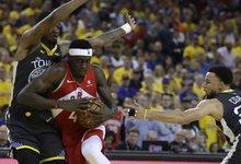 "NBA finalas: ""Warriors"" – ""Raptors"""