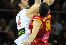Pusfinalis: Ispanija - Makedonija
