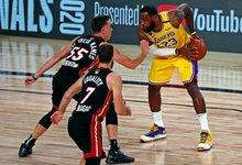 "NBA finalas: ""Lakers"" – ""Heat"""