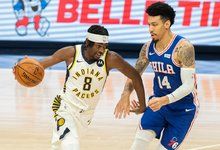 """NBA: """"76ers"""" – """"Pacers"""""""