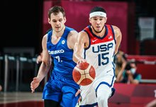 Olimpiada: Čekija – JAV