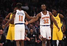 "NBA: ""Pacers"" – ""Knicks"""